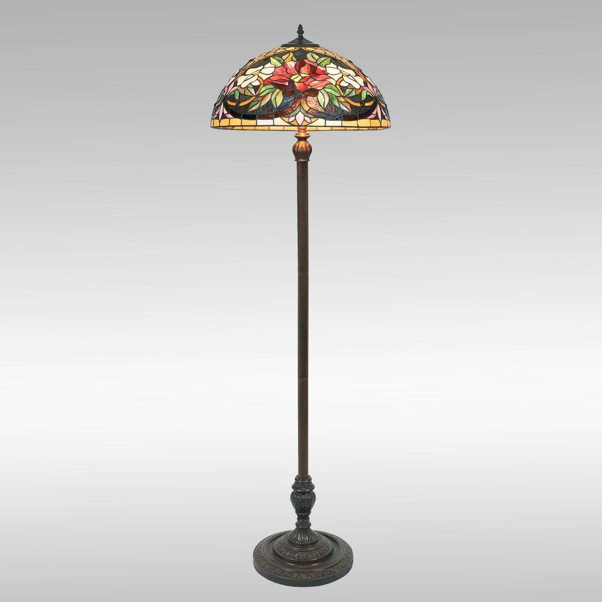 Colourful floor lamp ARIADNE in the Tiffany style-1032147-32