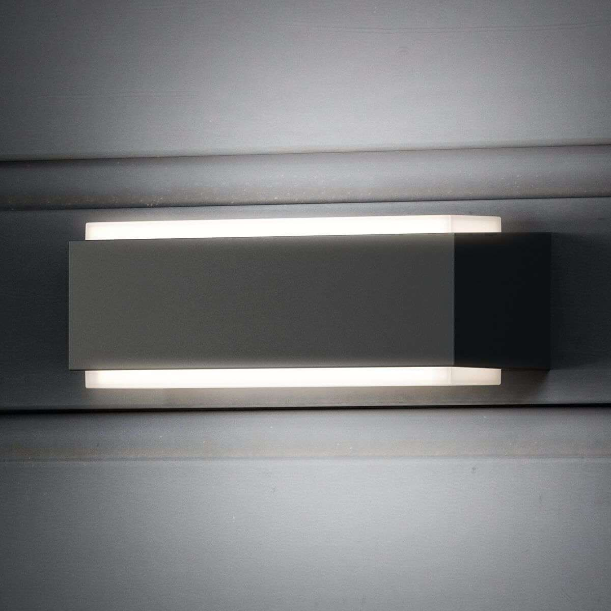 cool wall lighting. Cool White LED Outdoor Wall Light Stratosphere-7531928-31 Lighting