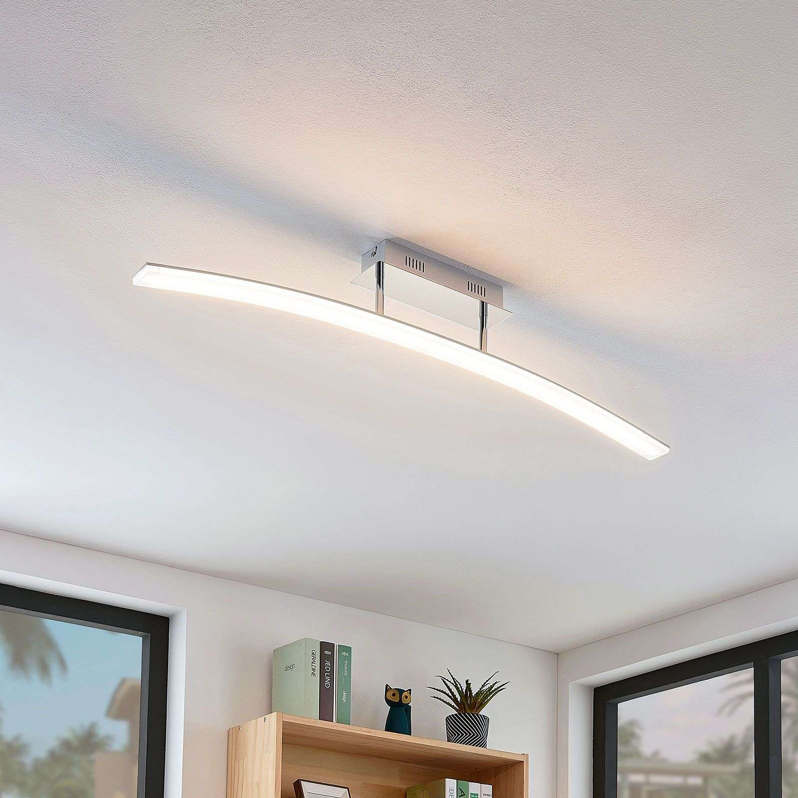 Curved led ceiling light lorian lights co uk
