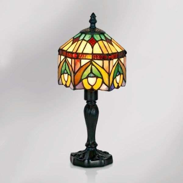 Decorative table lamp Jamilia in Tiffany style-1032267-31