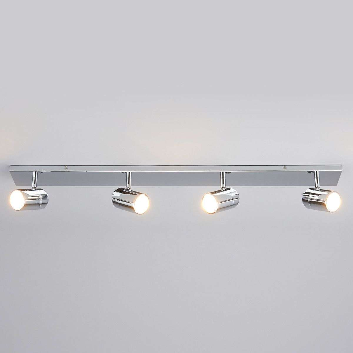 Dejan 4-bulb bathroom ceiling light | Lights.co.uk
