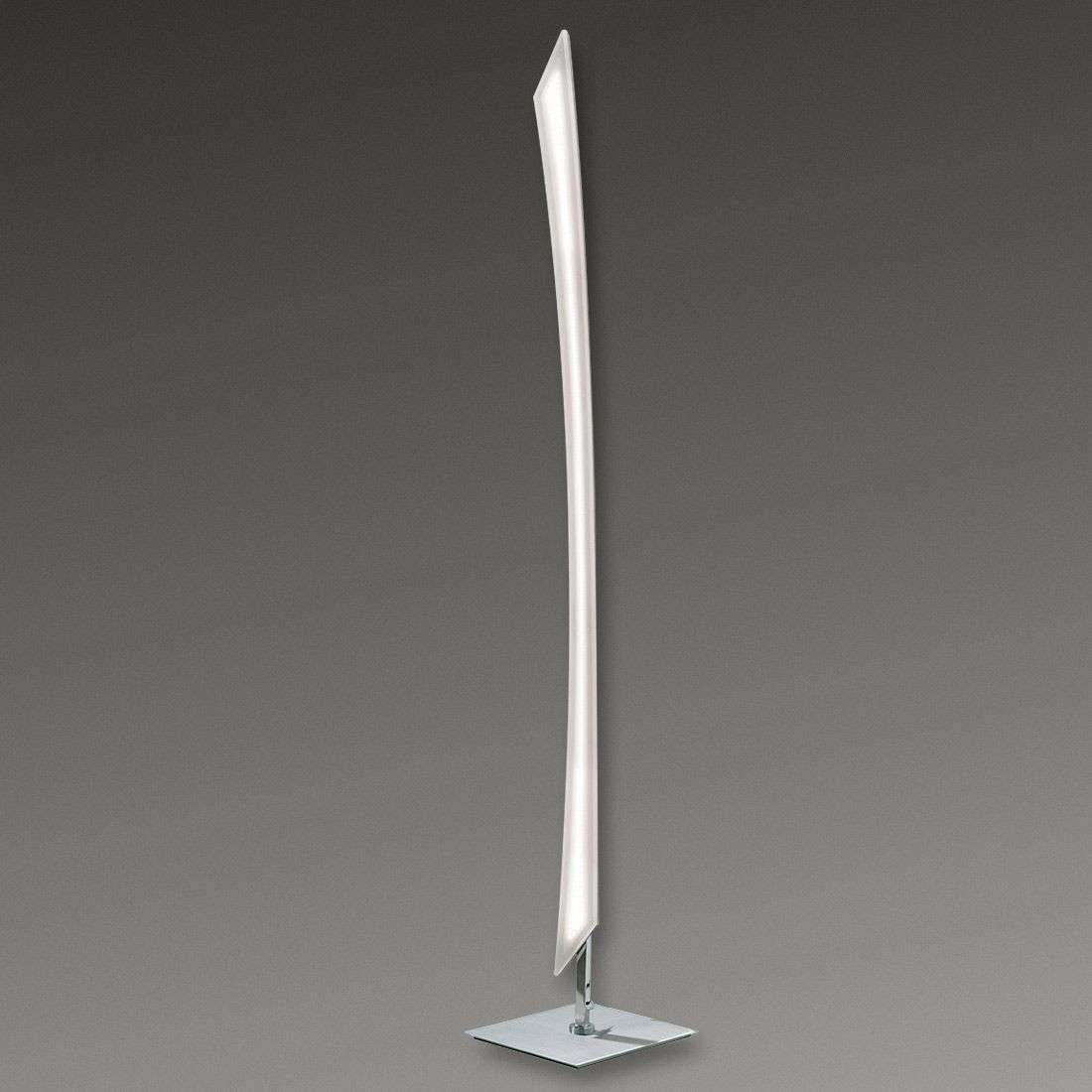 Dilara LED Floor Lamp Very Modern with Foot Dimmer ...