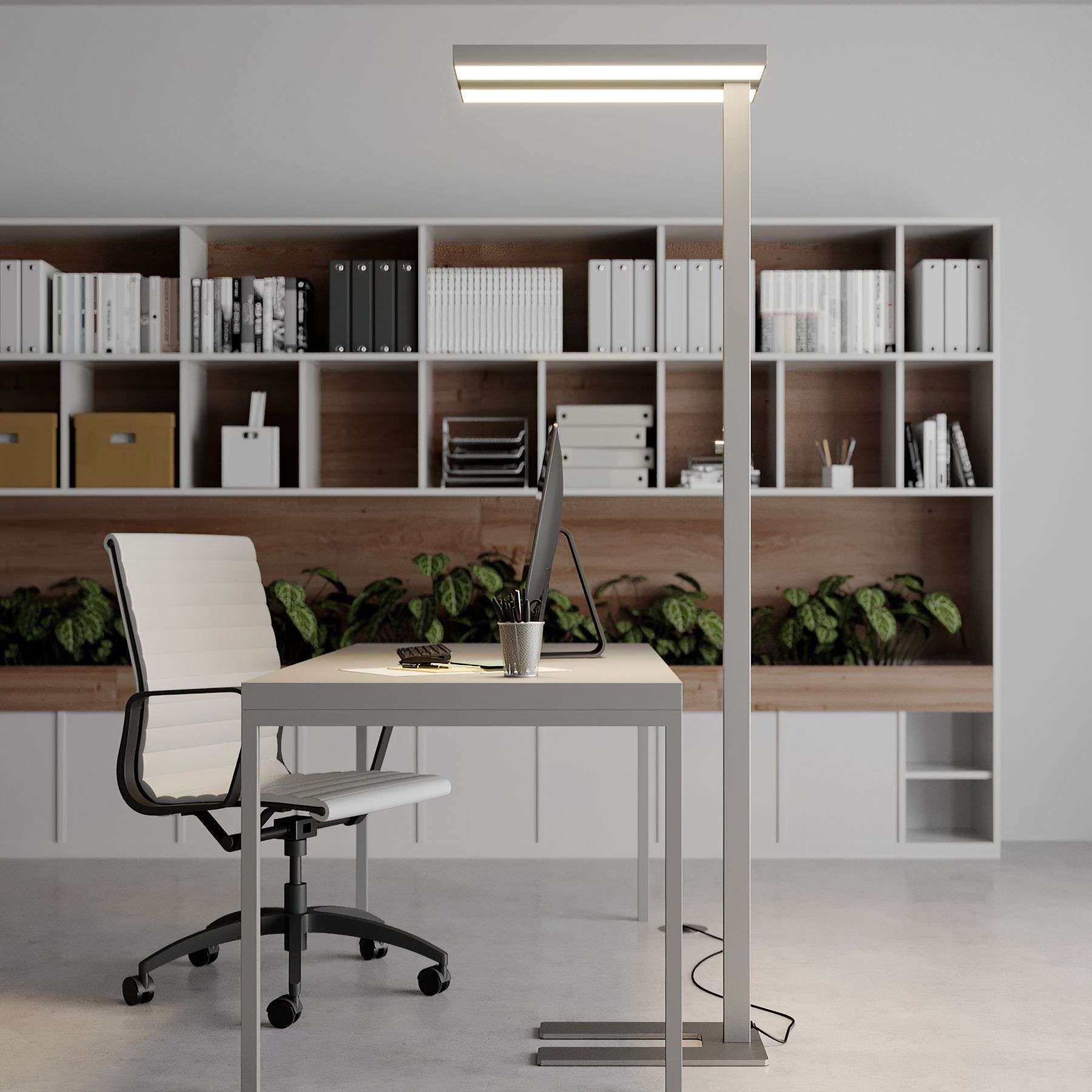 office lamp. Dimmable LED Office Floor Lamp Logan