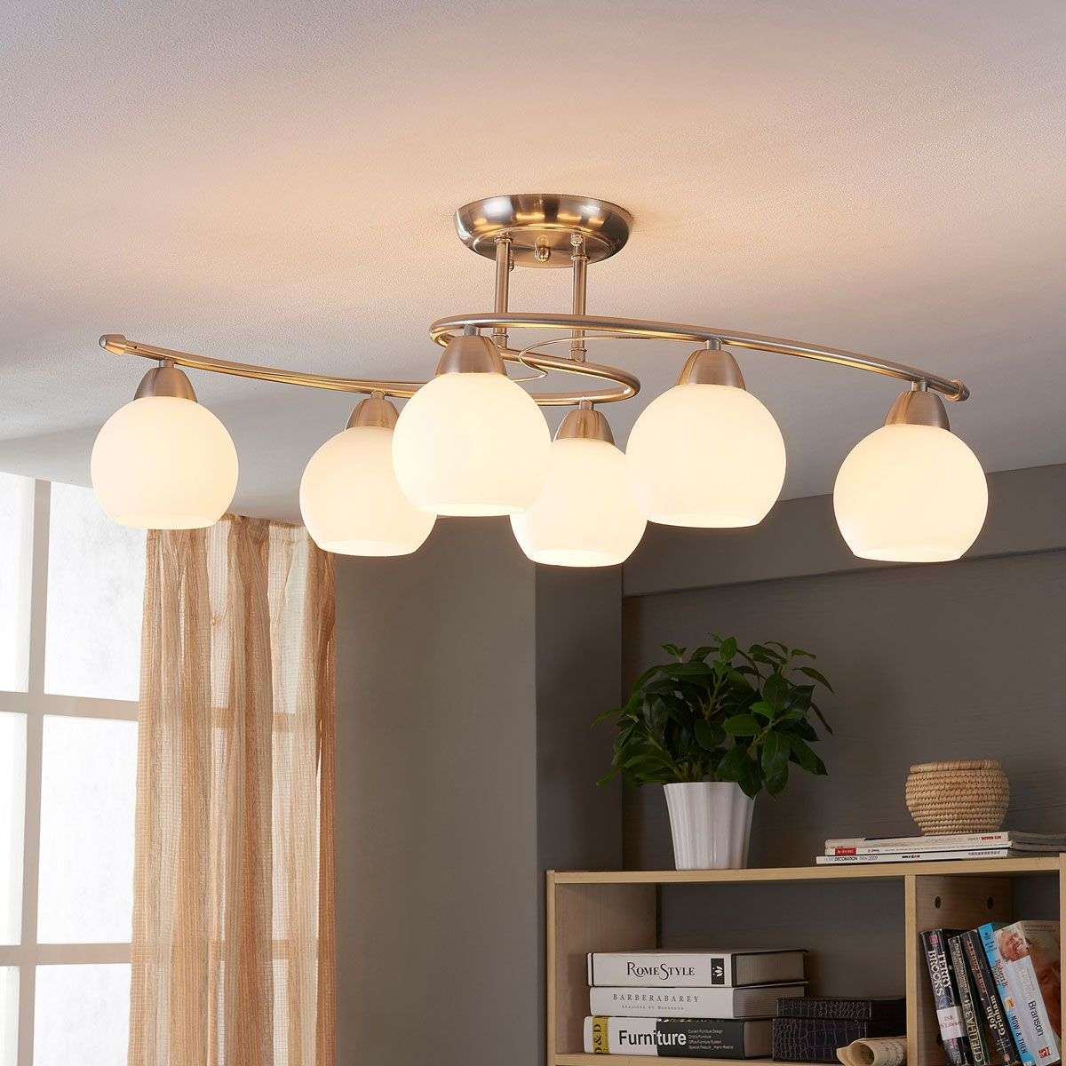 Dining Room Ceiling Lamps: Dining Room Ceiling Light Svean, 6 Bulbs