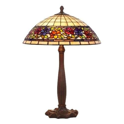 Distinctive table lamp FLORA, Tiffany-style-1032125-31