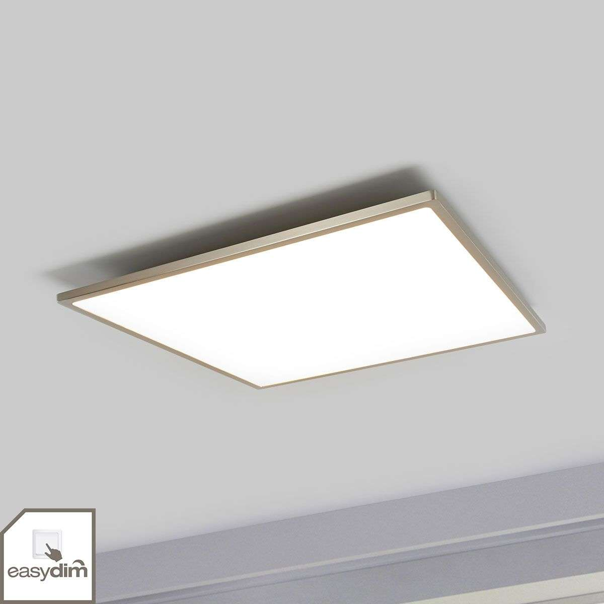 Led Ceiling Lights Company : Easydim led ceiling lamp ceres square lights