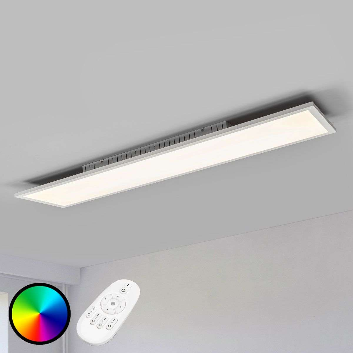 elongated dimmable milian led ceiling light rgb. Black Bedroom Furniture Sets. Home Design Ideas