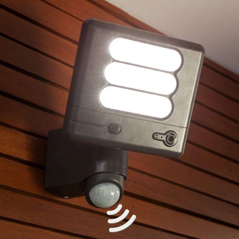 Esa Cam Led Wall Light With Security Camera Lights Co Uk