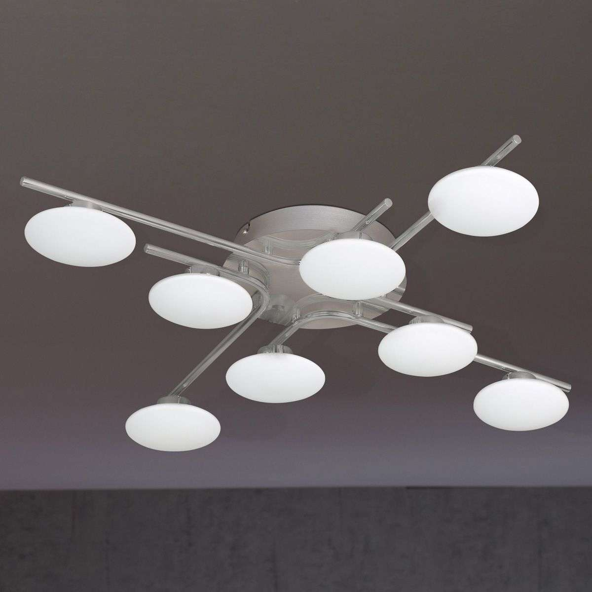 Shop Lights Not Working: Everett LED Ceiling Light With 8 Bulbs