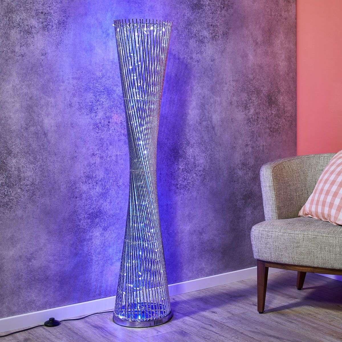 Lighting Lamp: Extravagant RGB LED Floor Lamp Philia