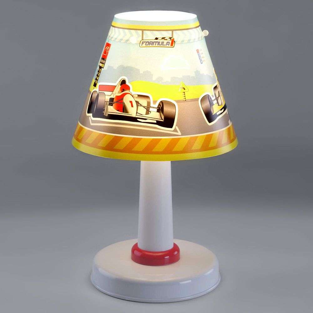 Formula 1 night stand lamp for a childs room-2507296-31