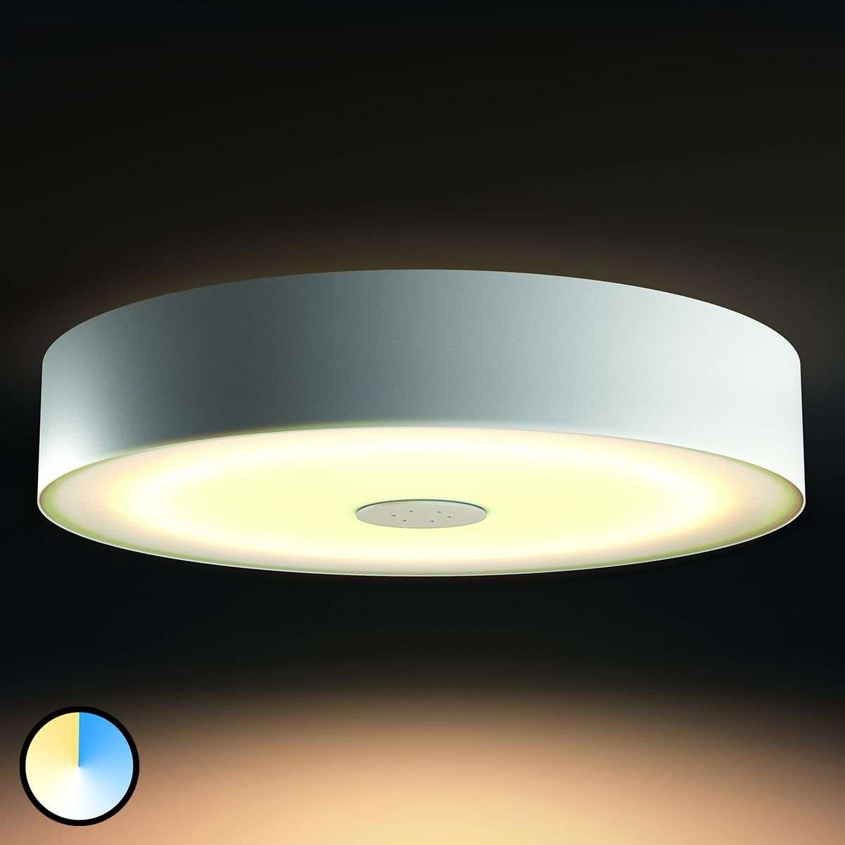 functional philips hue led ceiling lamp fair. Black Bedroom Furniture Sets. Home Design Ideas