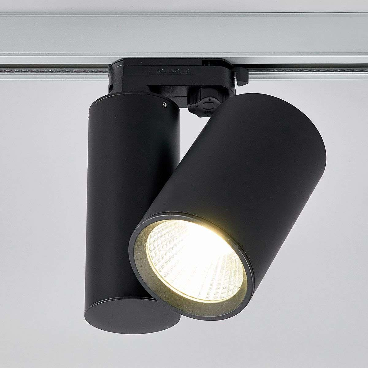 Black Track Lighting Uk: Giol Black LED Spotlight For Track Lighting System
