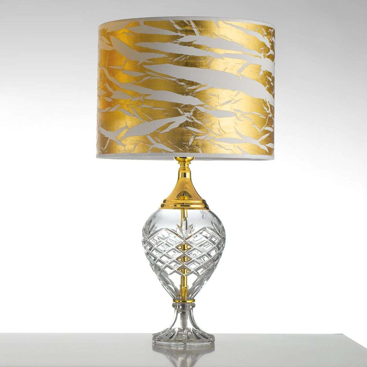 Gold coloured belle epoque table lamp w glass base lights gold coloured belle epoque table lamp w glass base 2008293 31 aloadofball Image collections