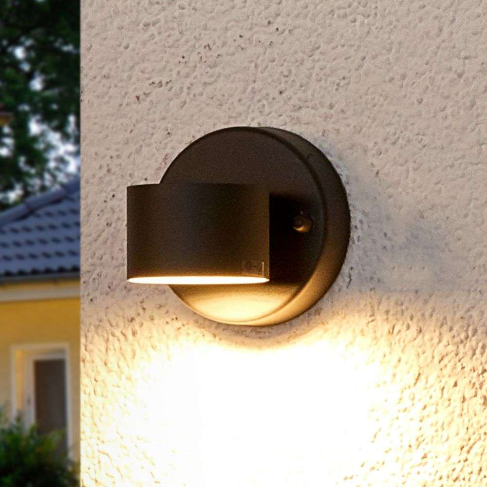 Graphite grey LED outdoor wall lamp Lexi-9977003-38