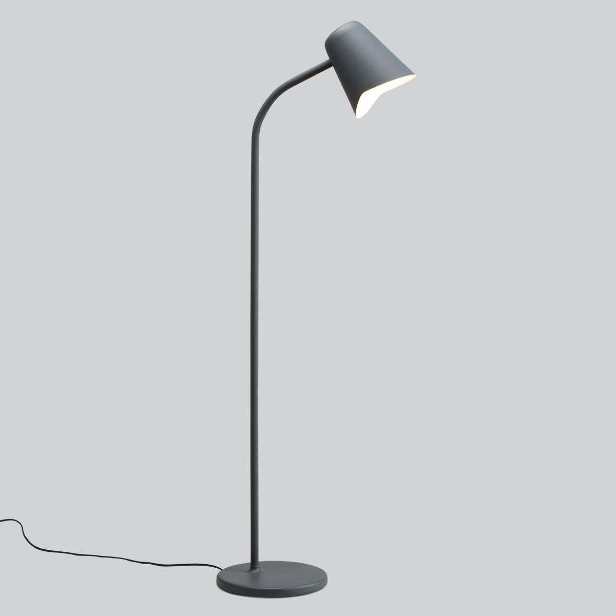 Grey designer floor lamp Me-7013069-31