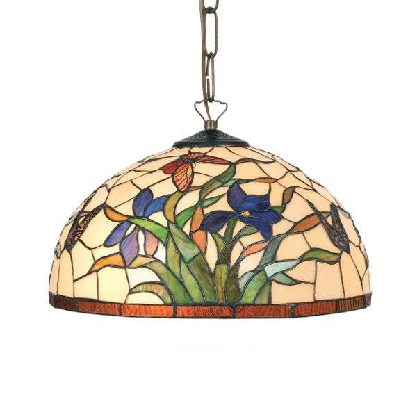 Hanging light Elanda in the Tiffany style-1032163X-31