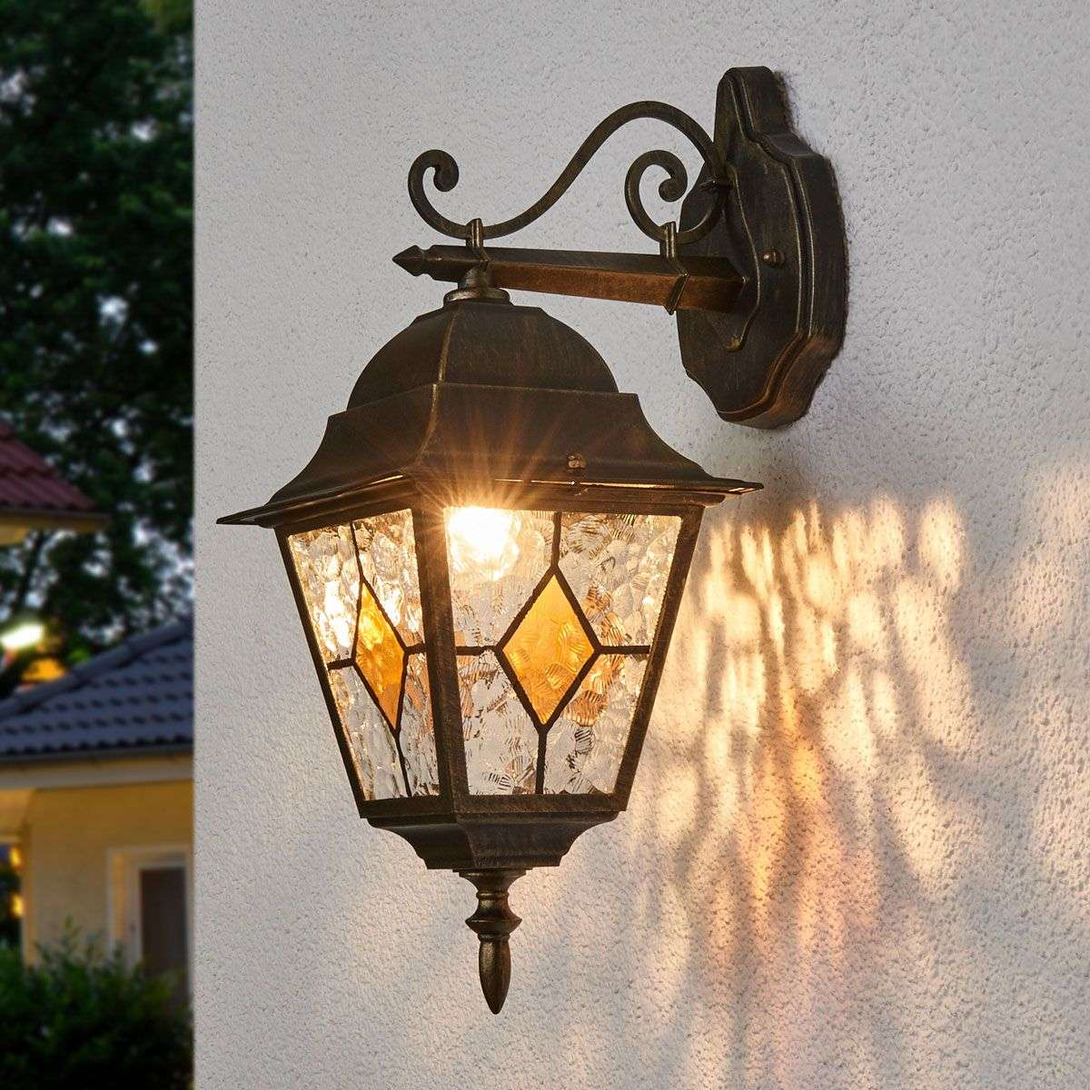 Outdoor Wall Lights Types: Jason Traditional Outdoor Wall Light