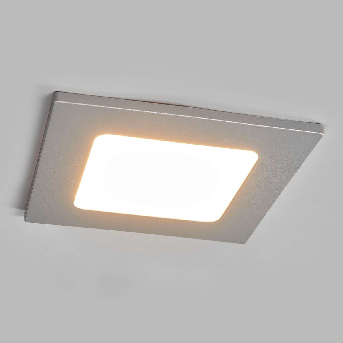 Joki square led recessed light in silver lights joki square led recessed light in silver 9978048 32 mozeypictures Gallery