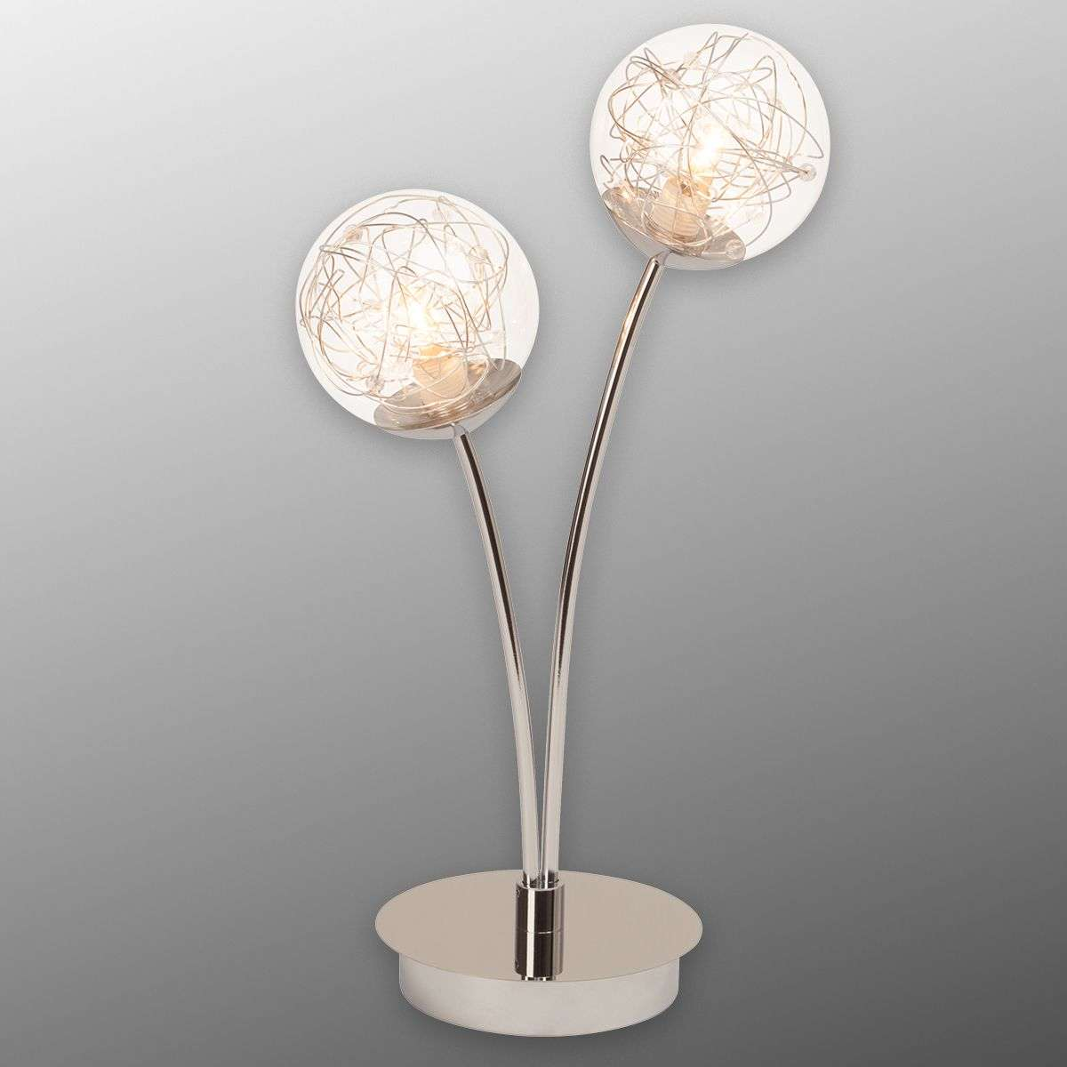 Joya 2-bulb table lamp with glass lampshades-1509043-31