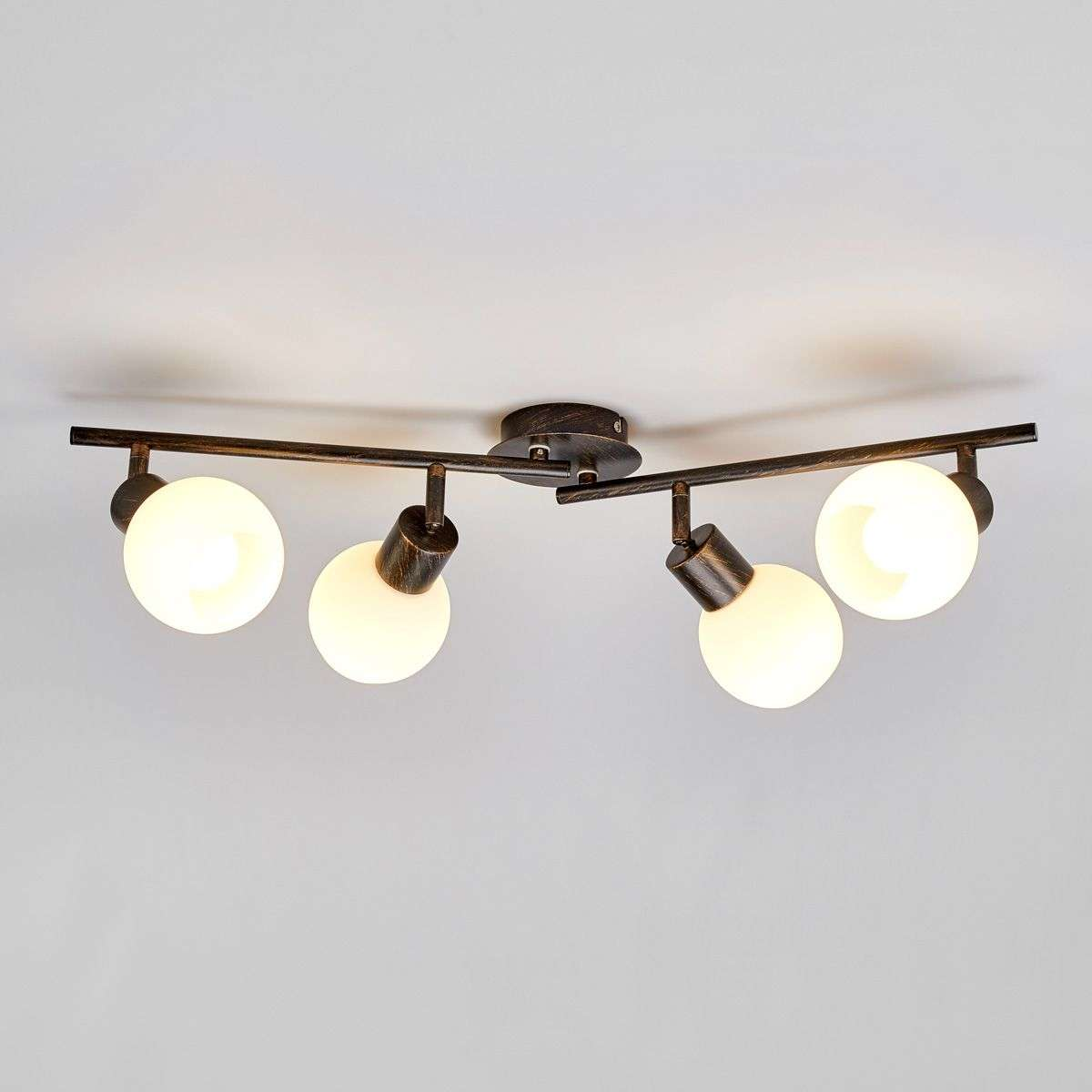 Merveilleux Kitchen Ceiling Light Elaina In Auburn, 4 Bulb