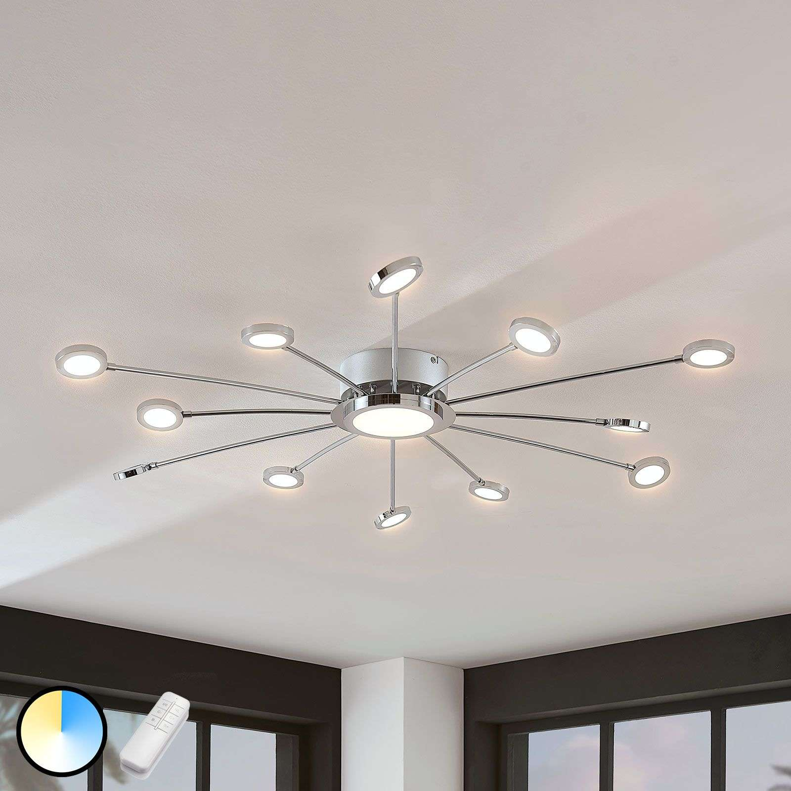ceilings ceiling dimmable change color led lamp lights p control light remote