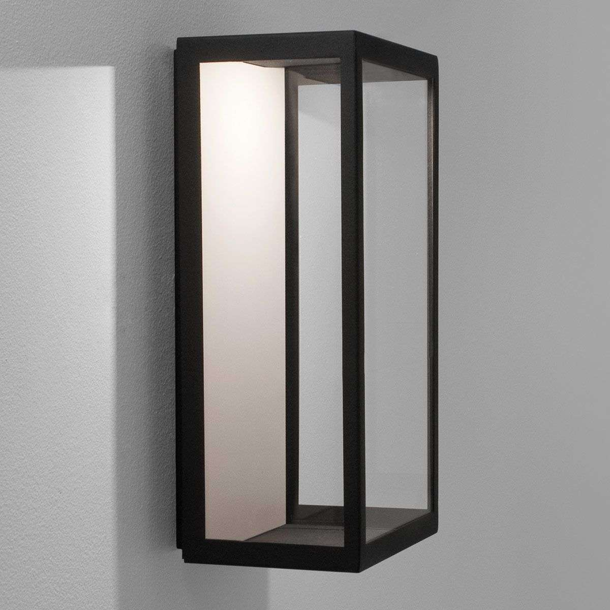 LED outdoor wall light Puzzle in black-1020528-32