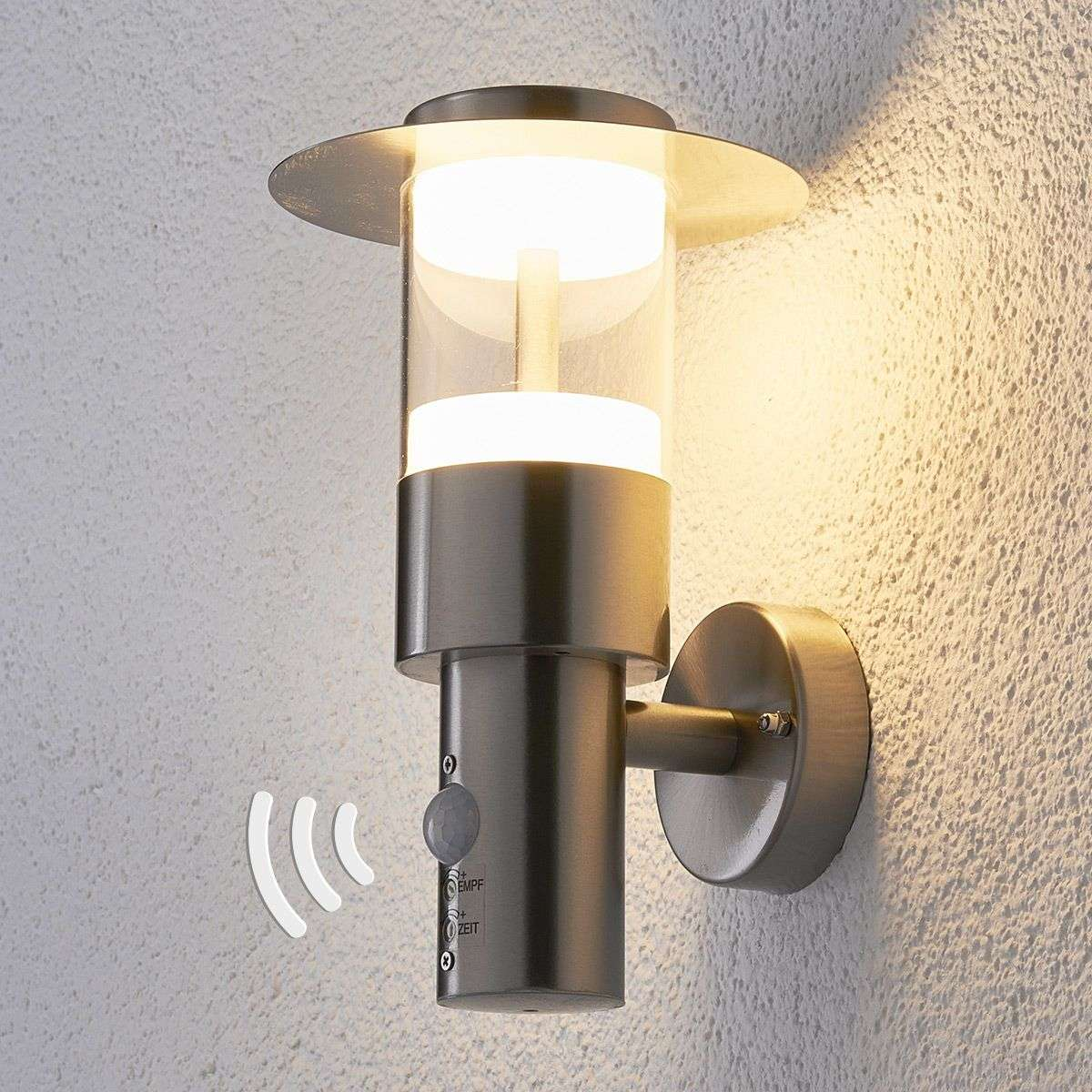 steel light dp collection stainless wall outdoor lighting adjustable zenon