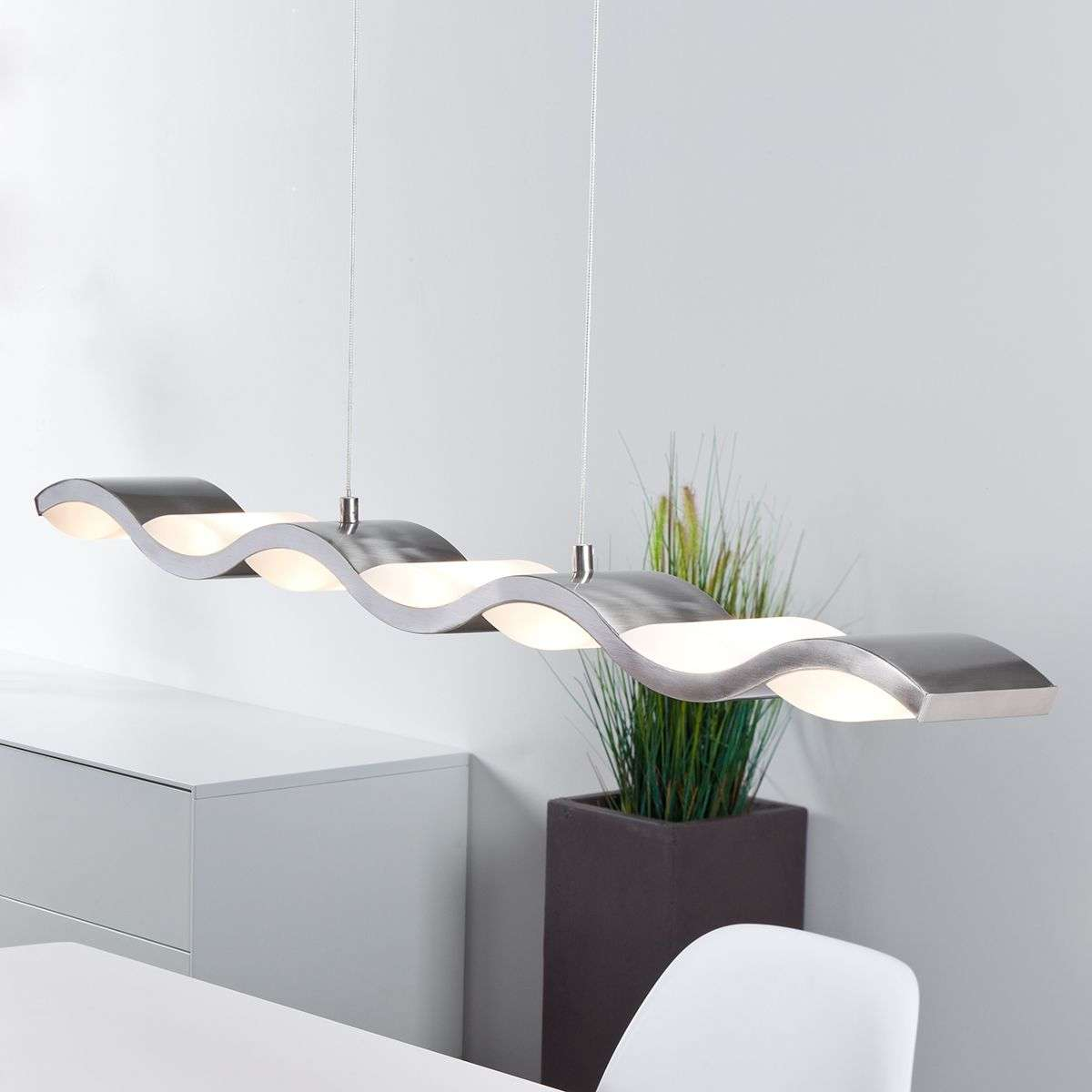Liquid dimmable LED pendant lamp, wave form-1509025-31