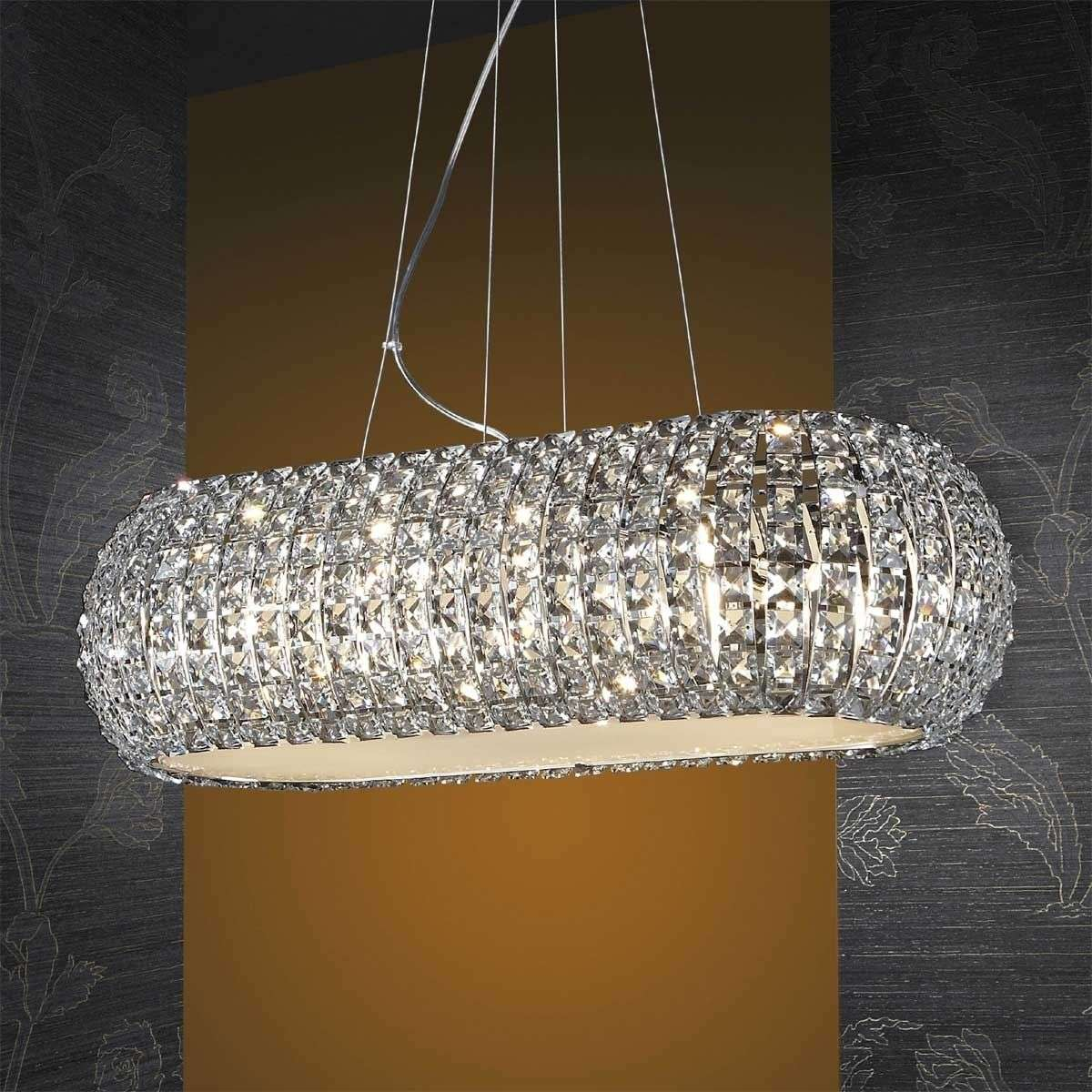 Long hanging light diamond with crystals lights long hanging light diamond with crystals arubaitofo Image collections