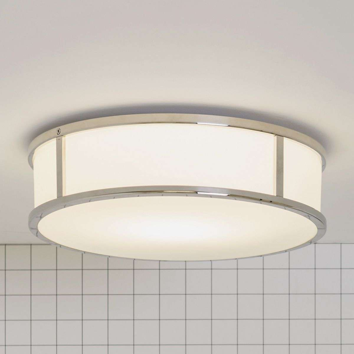 Mashiko round 300 bathroom ceiling light for Bathroom ceiling lights