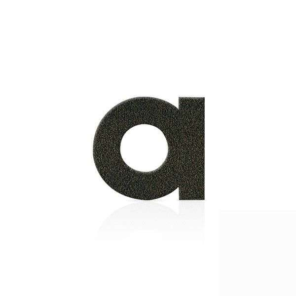 Mocha brown house numbers letters figures