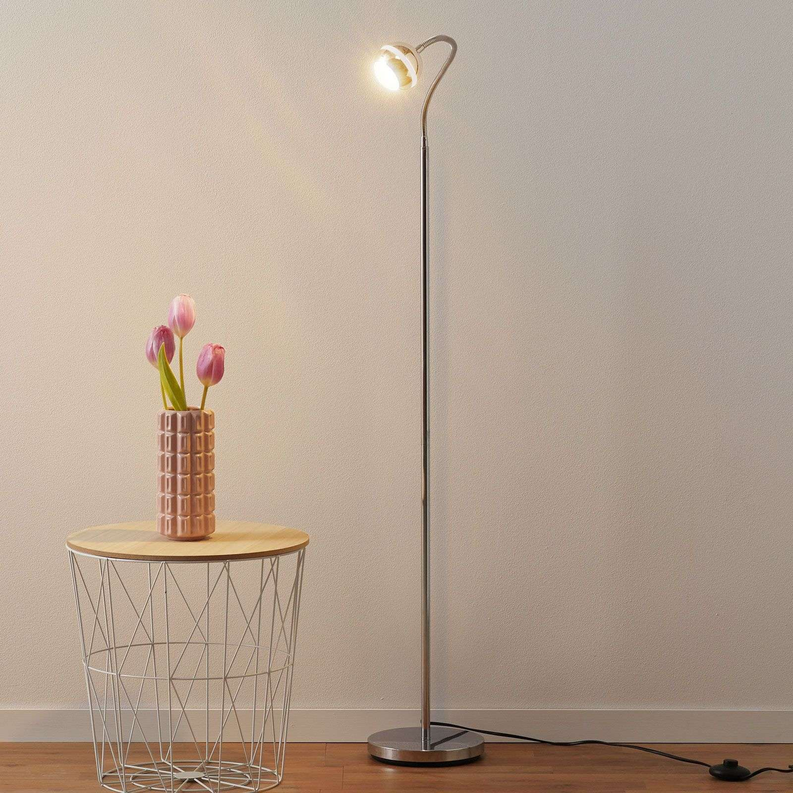 Narrow Ada LED floor lamp-9004580-31