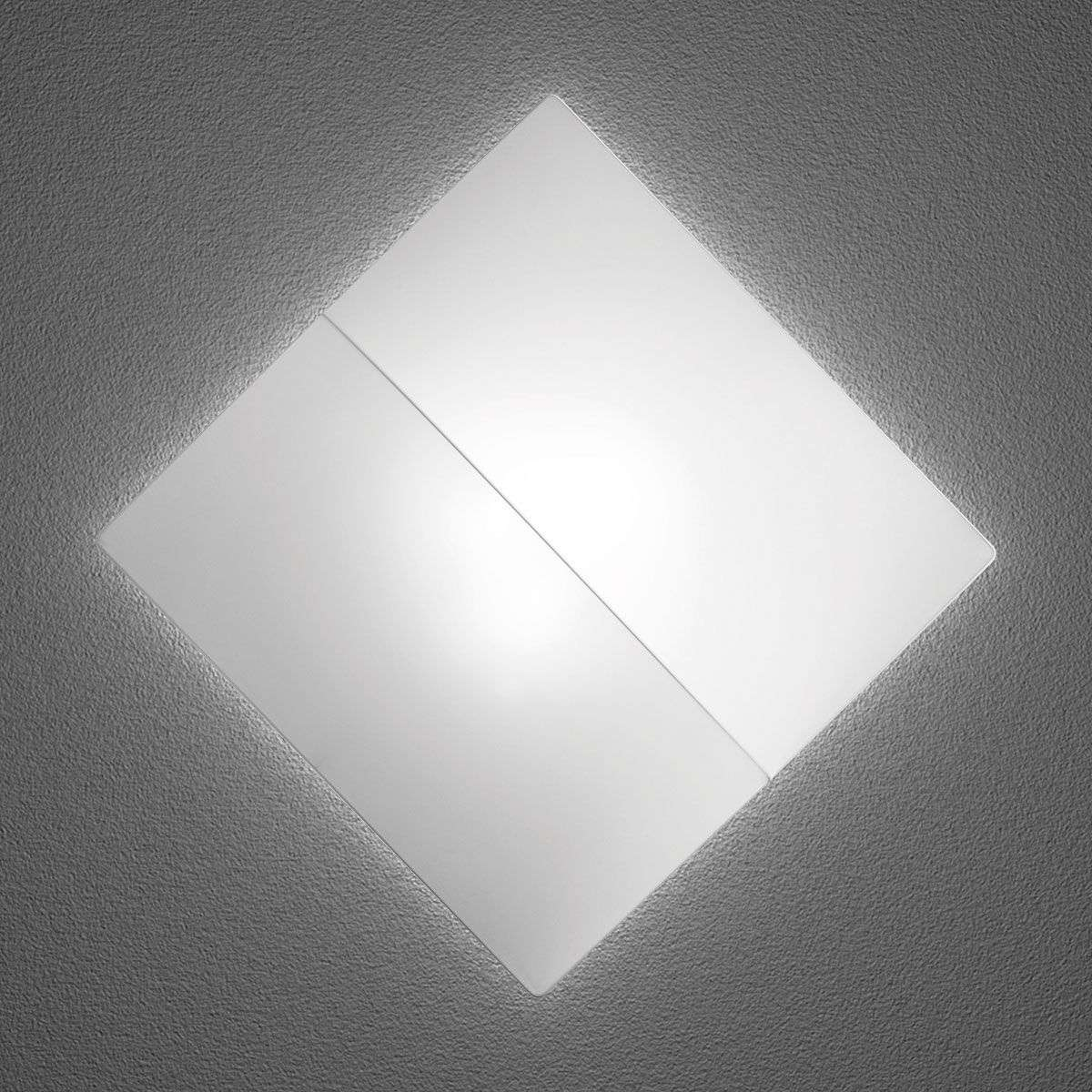 Nelly S square wall light with fabric-1088024X-31