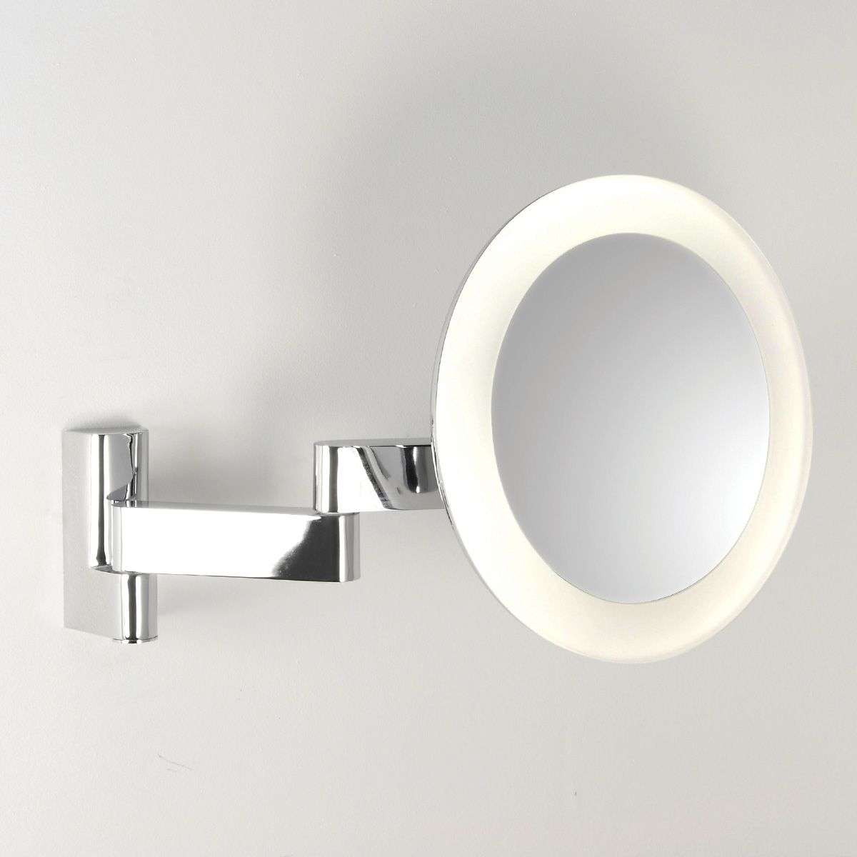 Niimi Round Cosmetic Mirror with LED Light-1020021-32