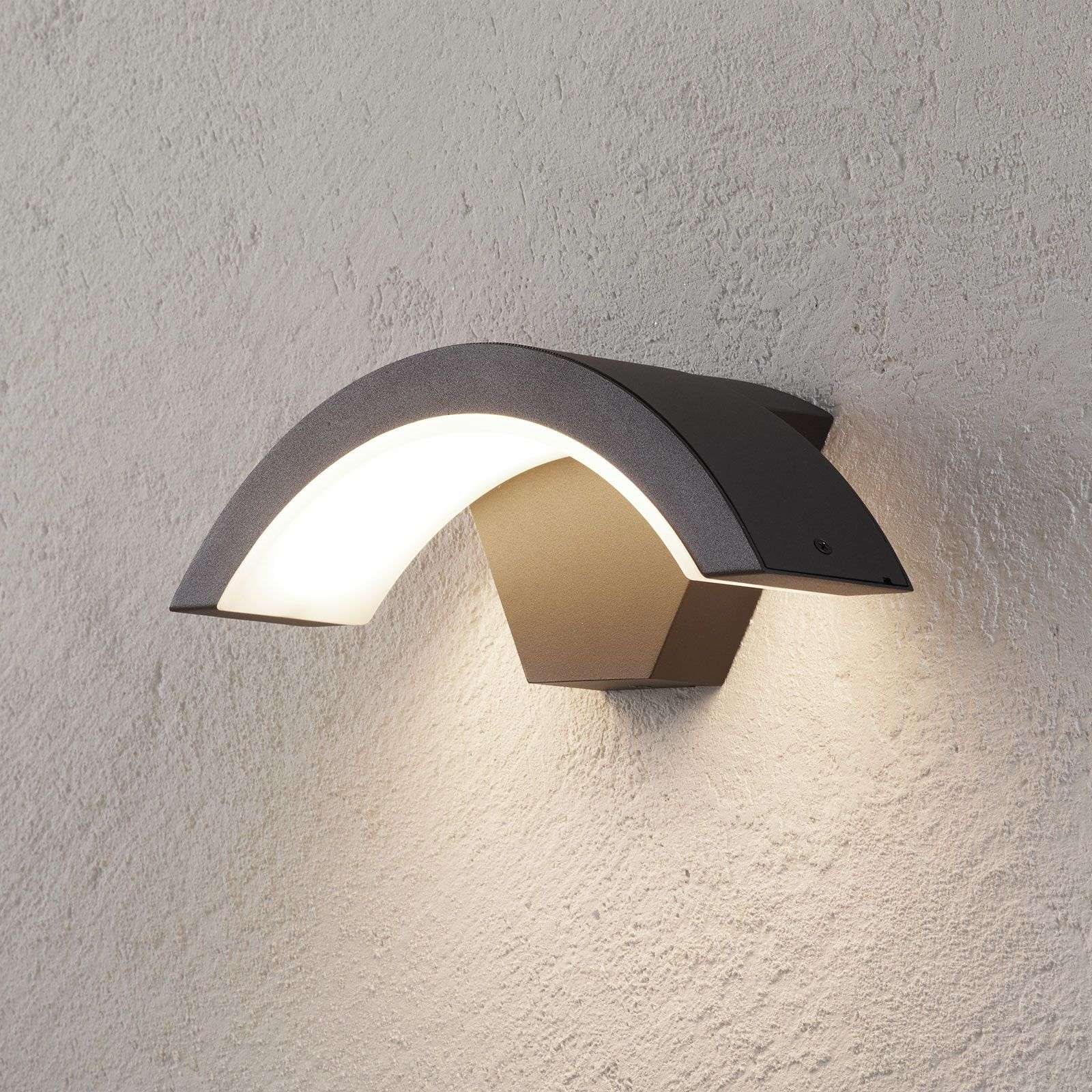 Ohio LED Outdoor Wall Light, Anthracite 9004662 31