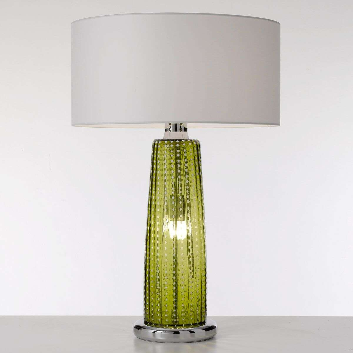 Perle apple green glass table lamp lights perle apple green glass table lamp 1053274 31 aloadofball Gallery
