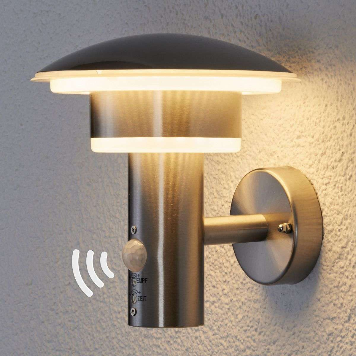 Pir outdoor wall light lillie with leds lights pir outdoor wall light lillie with leds mozeypictures Images