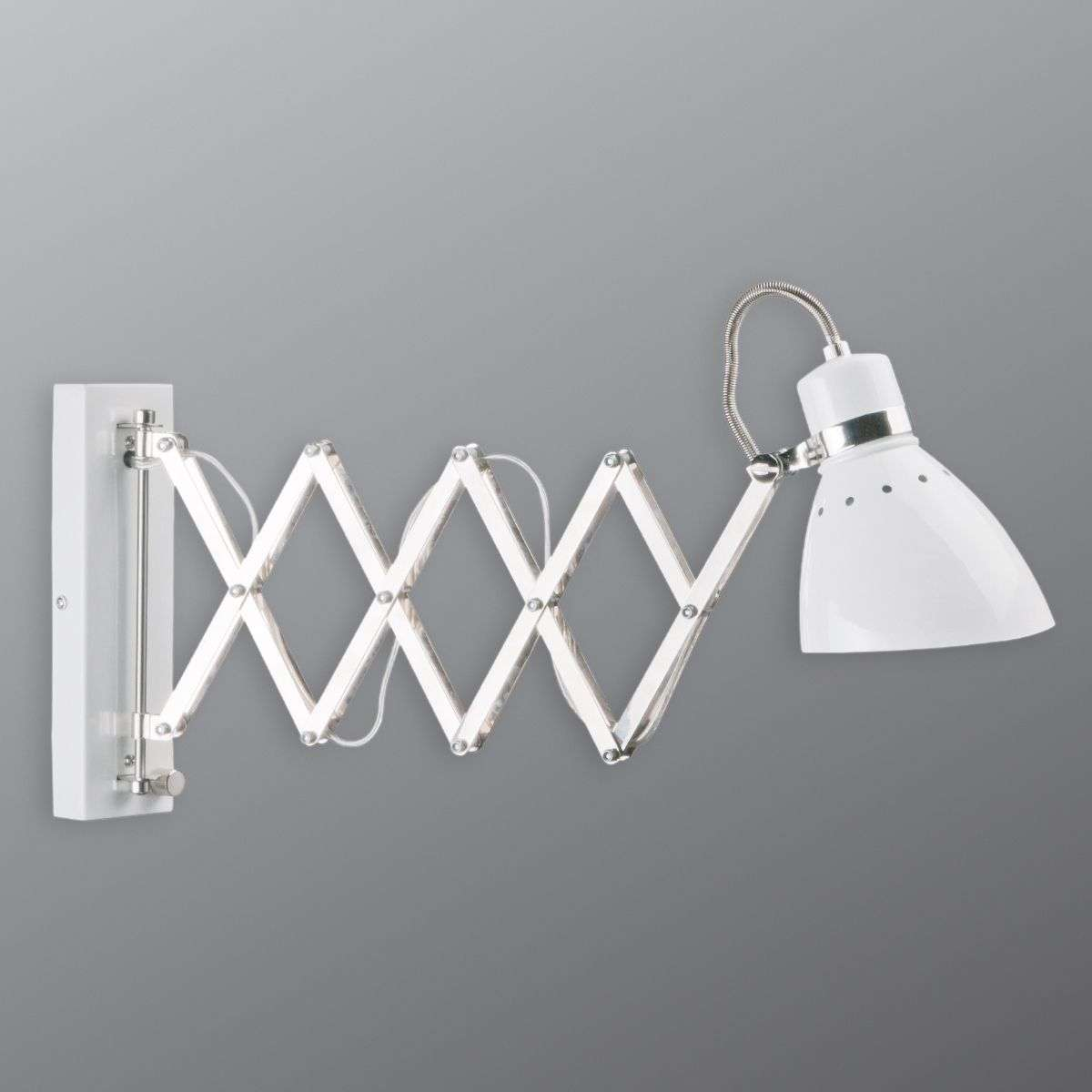 Pull out metal wall light kordian white lights pull out metal wall light kordian white 8509629 31 aloadofball Images