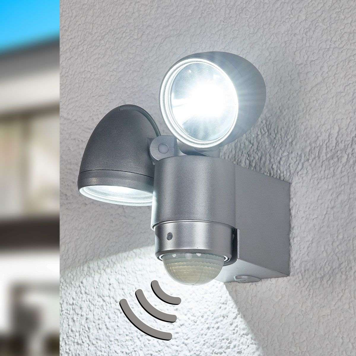 RADIAL Two Lamp LED Exterior Wall Spot-4014128-33