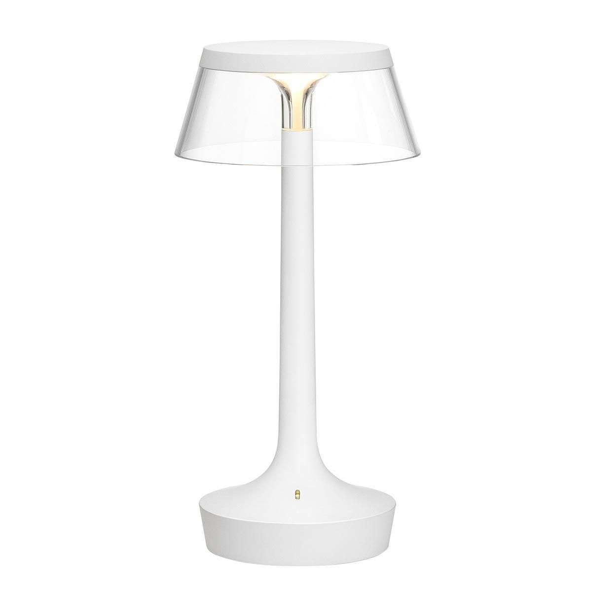 Rechargeable led table lamp bon jour unplugged lightscouk for 6 volt table lamp