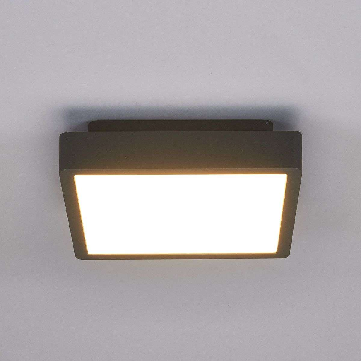 Outdoor led ceiling lights uk outdoor lighting ideas rectangular led outdoor ceiling light talea aloadofball Image collections