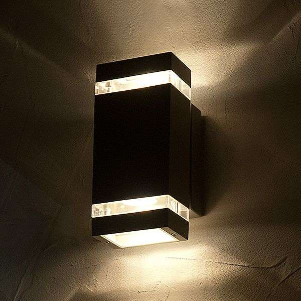 Good Rectangular Shaped FOCUS LED Exterior Wall Light