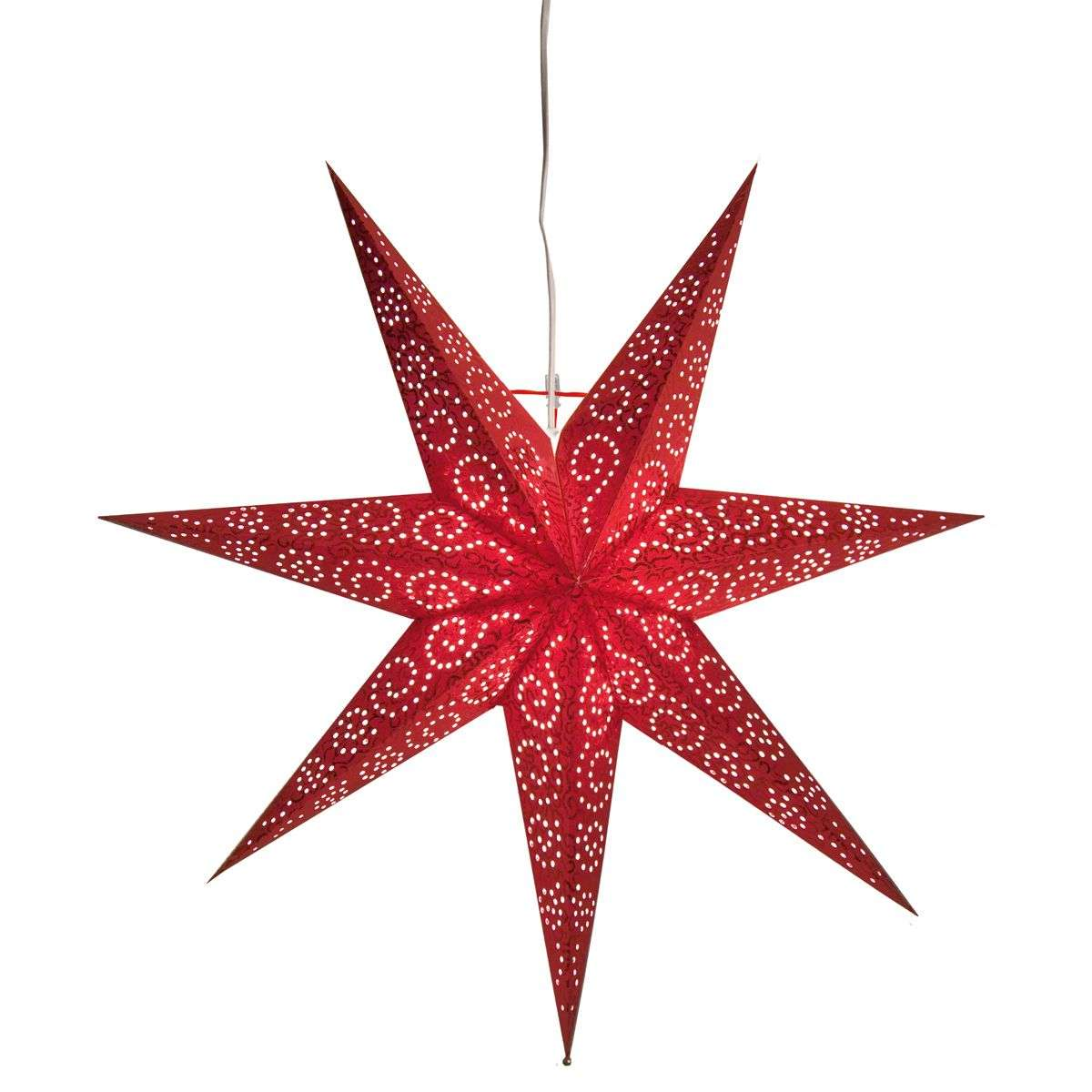 Red Paper star Antique-1522601-31