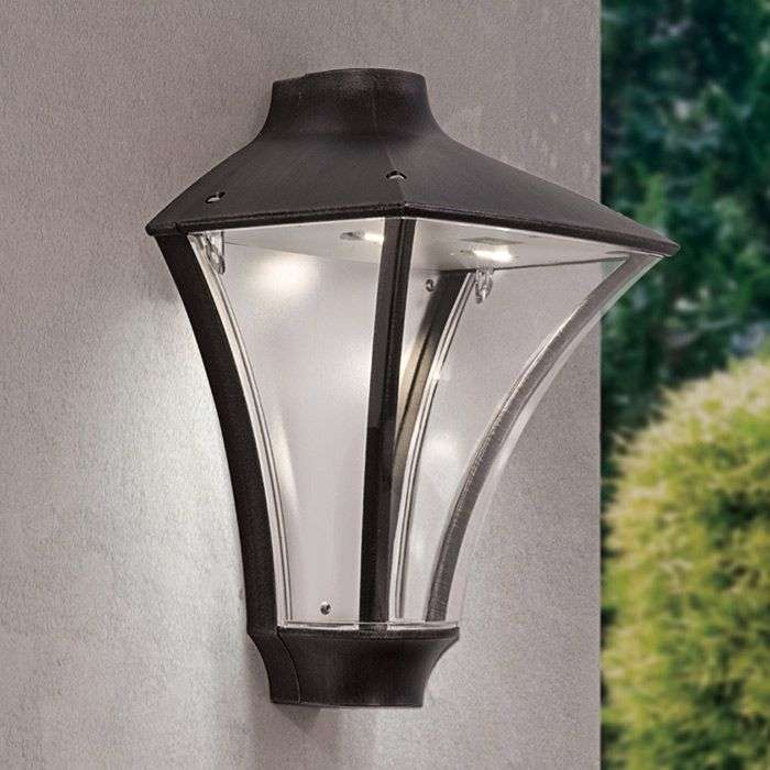 Exterior Wall Lights Ip65 : Rigon LED Outside Wall Light Bright IP65 Lights.co.uk