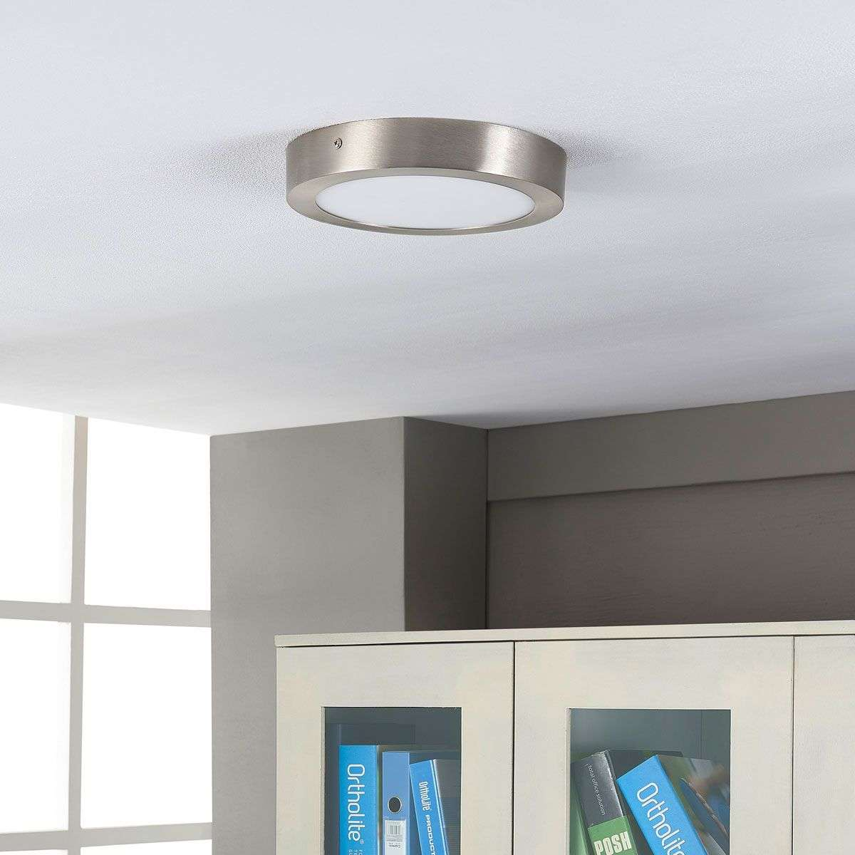 Round LED ceiling lamp Milea