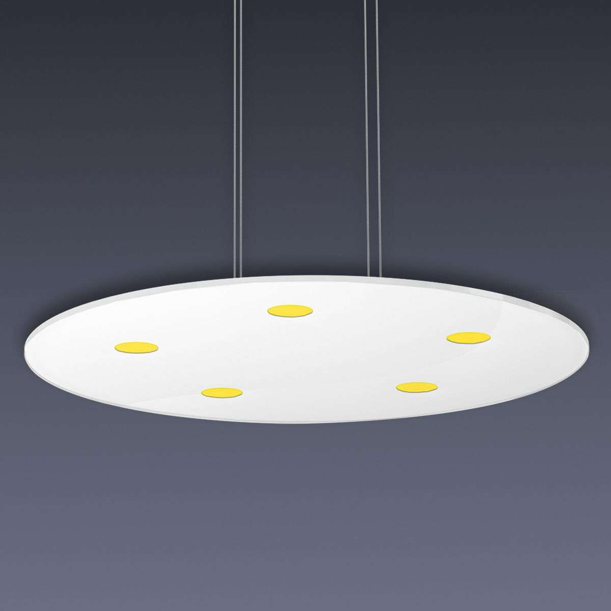 round led pendant light sunia with touch dimmer. Black Bedroom Furniture Sets. Home Design Ideas