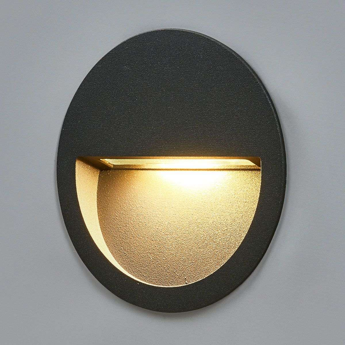 Round led recessed wall light loya lights round led recessed wall light loya 9969037 32 aloadofball Choice Image