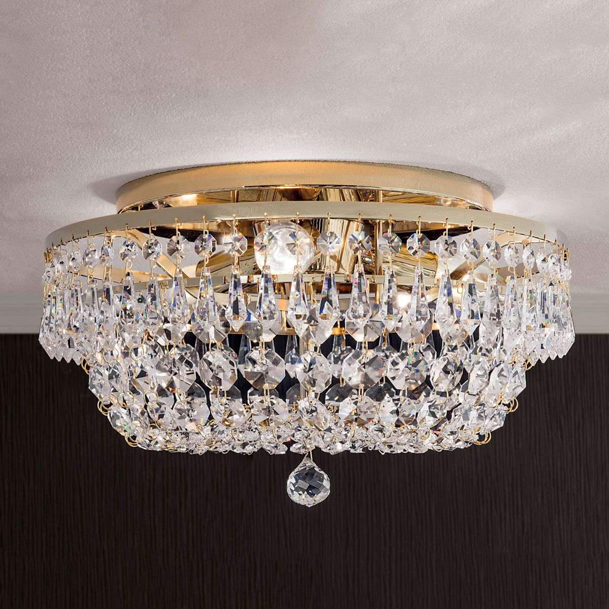 glow ceiling by lights long mount square product ceilings cityscape flush lighting crystal light