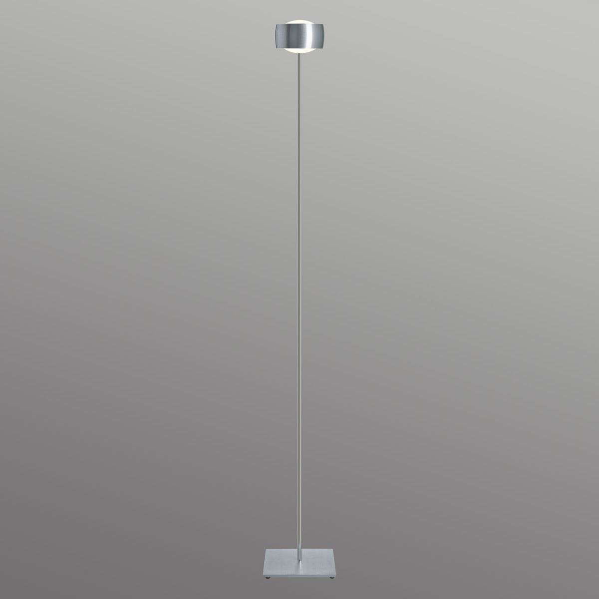 Slim dimmable floor lamp grace lights small floor lamp grace brushed aluminium 7250165 31 aloadofball Image collections
